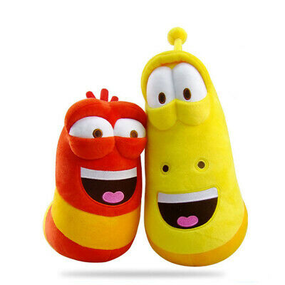 $ CDN8.54 • Buy 10cm LARVA Plush Toys Yellow Insect Red Insect Hot Cartoon Larva Toys Stuffed