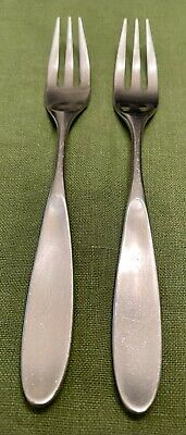 $59.95 • Buy 2 MCM Towle LAUFFER MAGNUM 18/8 SATIN Stainless NORWAY 3-Tine DINNER FORKS