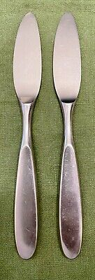 $12.95 • Buy 2 MCM Towle LAUFFER MAGNUM 18/8 SATIN Stainless NORWAY Silverware DINNER KNIVES