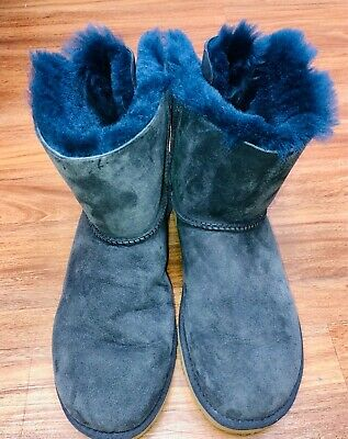 £35.79 • Buy UGG Womens Classic Bailey Bow Boots Blue Size 10