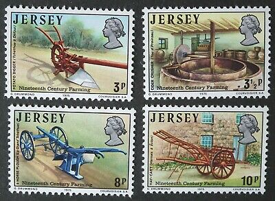 £1.50 • Buy Jersey (1975) Agricultural Equipment / Hay Cart / Farm Tools - Mint (MNH)