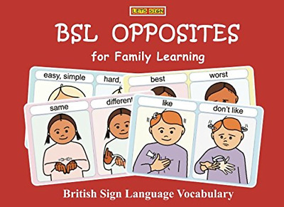 £8.38 • Buy BSL OPPOSITES For Family Learning: British Sign Language Vocabulary LET'S SIGN