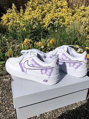 £85 • Buy Custom Butterfly Air Force 1 Size 5
