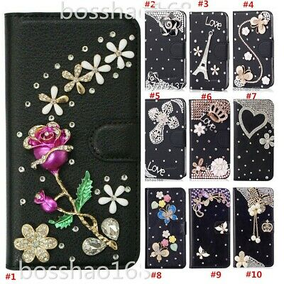 £13.99 • Buy For TCL 20 Pro 5G 3D Nice Bling Slots Wallet Flip Leather Case Phone Skin Cover