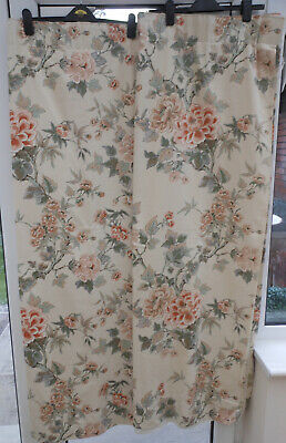 £24.99 • Buy Montgomery Cream / Peach Country Cottage Curtains