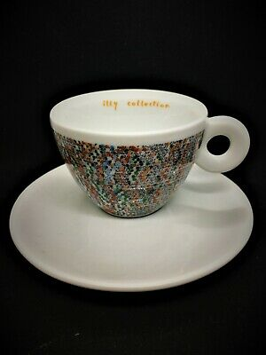 £46 • Buy Illy Art Collection2001 Cappuccino Cup & Saucer P.S.1
