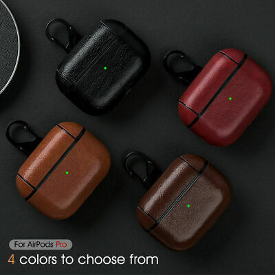 $ CDN5.74 • Buy For Apple AirPods Pro 2&1 Case Leather Earphone Charging Protective Hard Cover