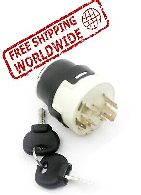 $45.68 • Buy 701/80184 701-80184 Ignition Switch With 2 Keys For JCB Backhoe Parts 3CX 3DX 4D