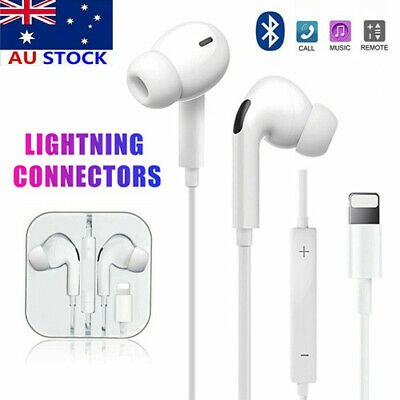 AU14.89 • Buy Bluetooth Wired Earphone Headphones Headset For IPhone 12 11 Pro Max X XR XS 8 7