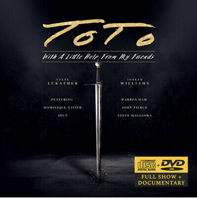 £13.99 • Buy TOTO WITH A LITTLE HELP FROM MY FRIENDS CD + DVD SET (Released June 25th 2021)