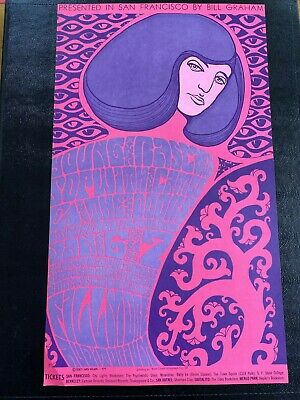 $150 • Buy The Doors Concert Poster About 50 Years Old Original