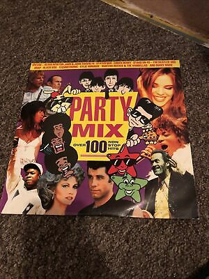 £16.99 • Buy Party Mix Over 100 Non Stop Hits Vinyl Record