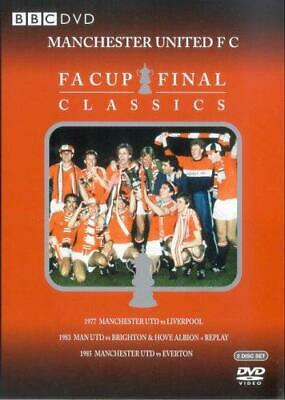 £4.34 • Buy Manchester United - FA Cup Final Classics [DVD], Good DVD, ,