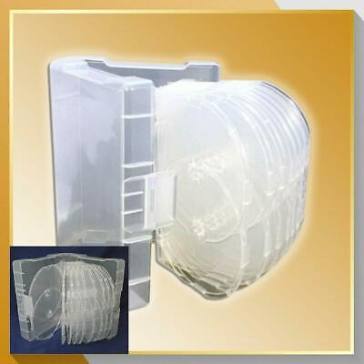 £9.99 • Buy 18 Way Clear Megapack DVD 43mm [18 Discs] New Empty Replacement Amaray Case