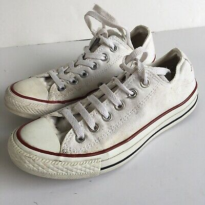 £15 • Buy Unisex White Converse All Star Size 5