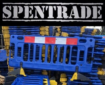 £336 • Buy ROAD BARRIERS 16 TRAFFIC MANAGEMENT CHAPTER 8 PEDESTRIAN PLASTIC SAFETY £17.50ea