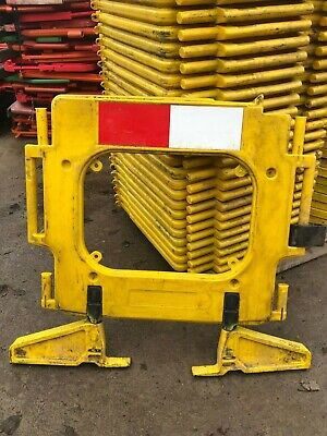 £396 • Buy Road Barriers 33 Traffic Management Chapter 8 Pedestrian Plastic Safety Barrier