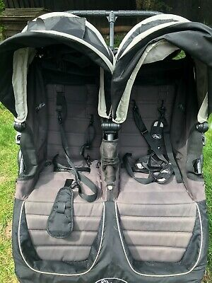 £100 • Buy Baby City Mini Jogger Double Pushchair With Rain Cover