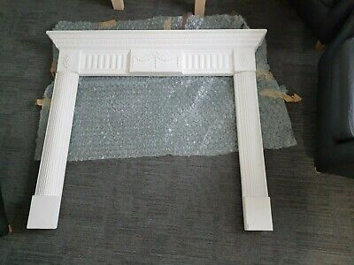 £300 • Buy Plaster Fire Surround Non Flammable In Unfinished Plaster Requires Painting