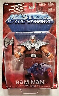 $24 • Buy Masters Of The Universe RAM MAN 6-Inch Action Figure ~ 2002 Mattel #55576