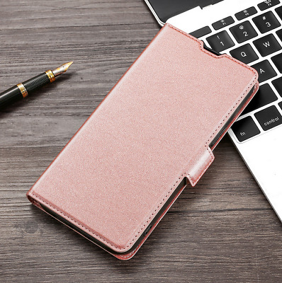 AU10.50 • Buy For OPPO A3 A37 A39 A57 Slim Magnetic Flip PU Leather Wallet Case Cover