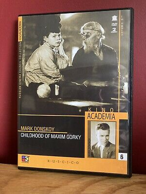 £14 • Buy DVD Childhood Of Maxim Gorky : Directed By Mark Donskoy