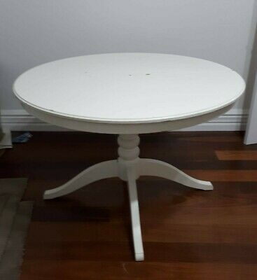 AU65 • Buy Ikea Liatorp/Ingatorp White Wooden Extendable Dining Table
