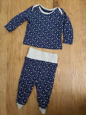 £3 • Buy Baby Boy Clothes 0-3 Months Outfit  Top Matching Bottoms Stars