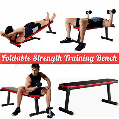 £33.99 • Buy Multi Function Weight Bench Press Abs Gym Workout Exercise Flat Decline Sit Up