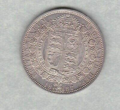 £52 • Buy 1887 Victoria Jubilee Head Half Crown In Extremely Fine Or Better Condition
