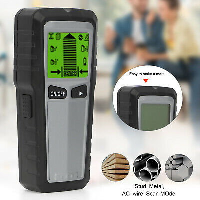 £12.95 • Buy Electric Wall Stud Finder Cable Detector AC Wire Scanner Live Test Metal Sensor