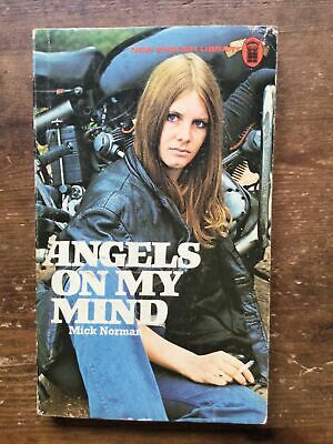 £10 • Buy Angels On My Mind Mick Norman Hells Angels Outlaw Bikers 1%er Book 1975 Edition