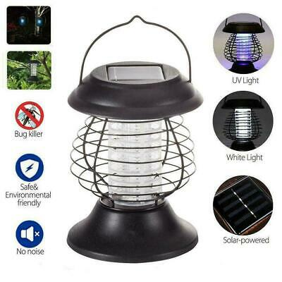 £7.28 • Buy Solar Powered LED Mosquito Fly Bug Insect Zapper Killer Outdoor Trap Lamp I8E5