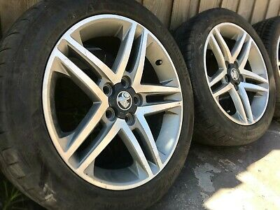 AU895 • Buy 4x 18  Holden Commodore VE Series 2 SS SV6 Wheels And Tyres Suit VE- 18x8 5/120