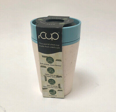 £7 • Buy RCUP Reusable Coffee Cup From Recycled Cups 8oz/227ml New But Damaged Packaging