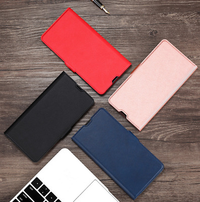 AU11.05 • Buy For One Plus 3 5 5T 6 6T Slim Magnetic Flip PU Leather Wallet Case Cover