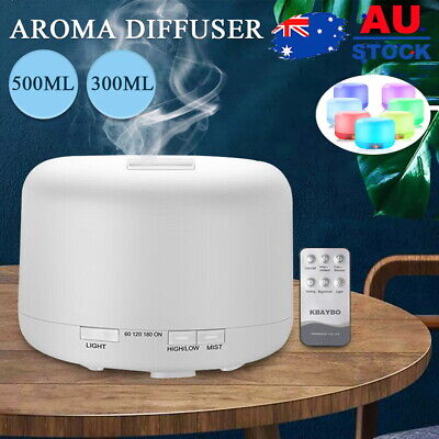 AU18.05 • Buy Ultrasonic Aroma Air Humidifier Aromatherapy Diffuser Essential Oil LED Purifier