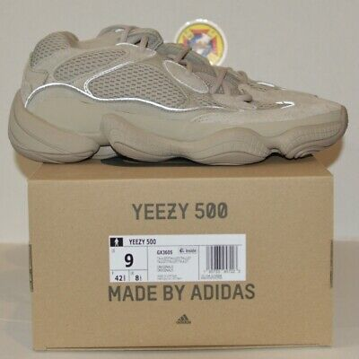 $ CDN326.04 • Buy Adidas Yeezy Boost 500 Light Taupe NEW Sizes 8 9 9.5 10 100% Authentic FREE SHIP