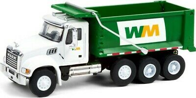$14.99 • Buy Waste Management 2020 Mack Granite Dump Truck In 1:64 Scale By Greenlight