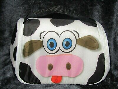 £5 • Buy Small Kids Lunch Bag,  9  Long,  6  High, With Cow Print, Great Condition