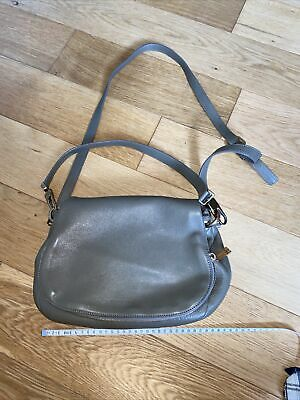 £59.99 • Buy Coccinelle Bag Taupe Grey Beige Leather