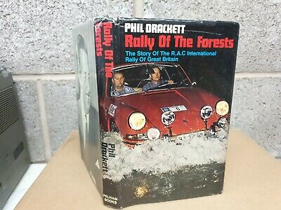 £17.50 • Buy Rally Of The Forests  Phil Drackett 1970 First Edition Hardback Book And Jacket
