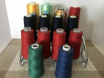 $12.50 • Buy Embroidery Machine Thread Lot Of 14 Spools