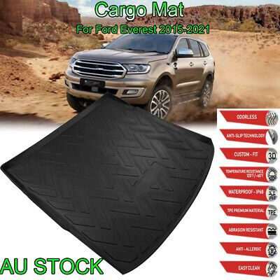 AU47.88 • Buy For Ford Everest 2015-2021 Boot Cargo Liner Trunk Mat Heavy Duty Waterproof