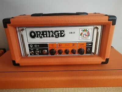 £319 • Buy Orange Or15 Guitar Amplifier Head Amp Includes Cover Mint Stunning