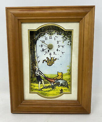 £12.99 • Buy Time Gallery Winnie The Pooh Wall Clock Disney Catch Me If You Can 'Working'