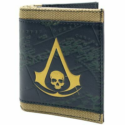 £8.99 • Buy Official Assassins Creed Black Flag Bronze Coin & Card Wallet *SECOND*