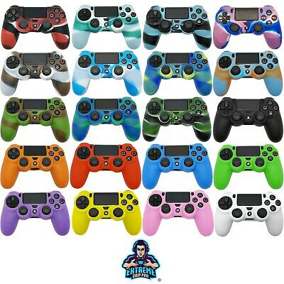AU6.15 • Buy EGP™ Camo CASE Protect Grips Silicone Rubber Cover Skin For Sony PS4 Controller