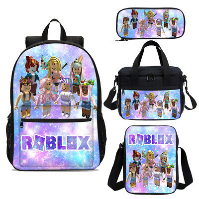 AU31.99 • Buy Galaxy Roblox Girls School Backpack Insulated Lunch Bags Pen Case Lot Combo Set