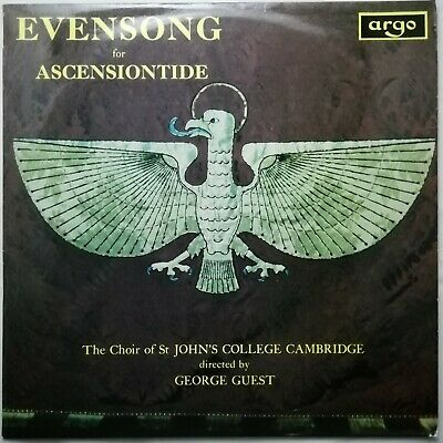 £12.50 • Buy Evensong For Ascentiontide / Guest / St. John's / Argo LP ZRG 511 GROOVED OVAL